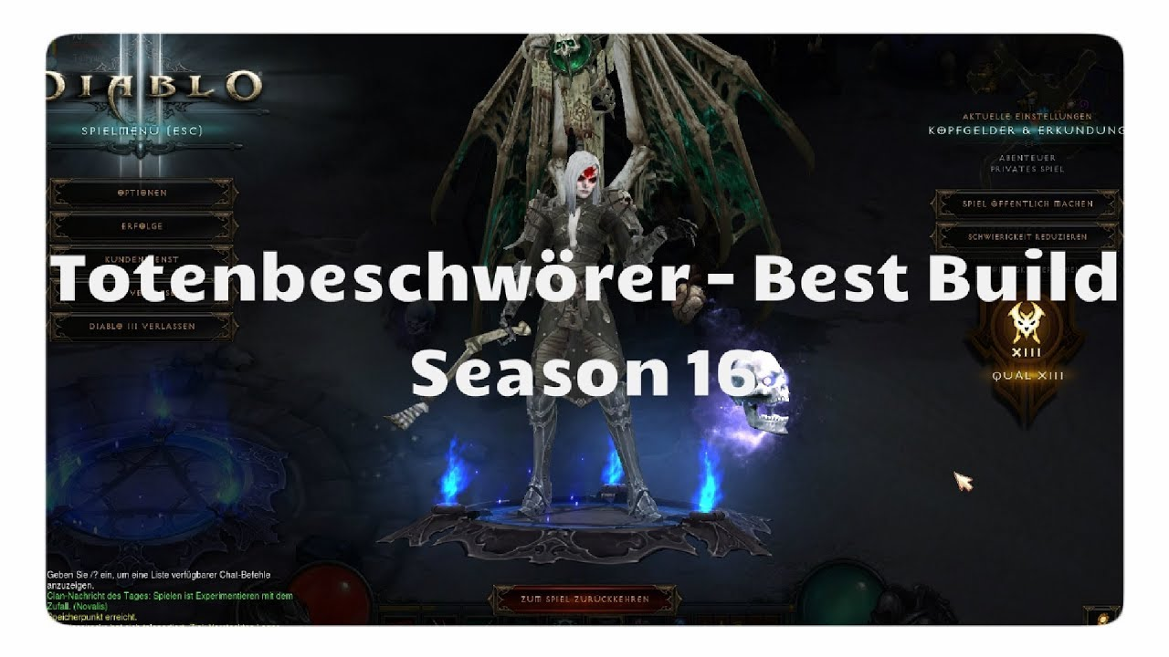 Totenbeschwörer: Der beste Build für Season 16  (Autolancer, Patch 2.6.4)